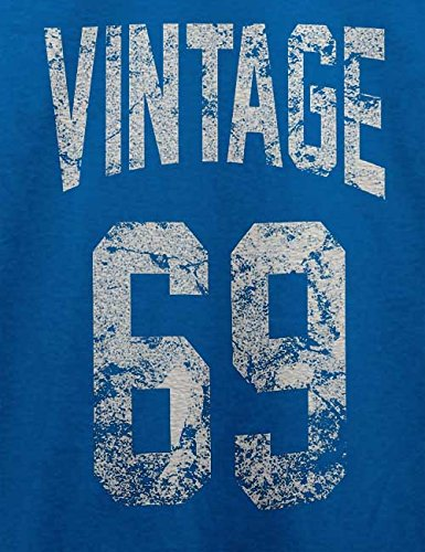 Vintage 1969 T-Shirt Royal Blau