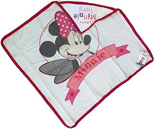 Albornoz Triángulo Minnie Mouse Disney recién nacido