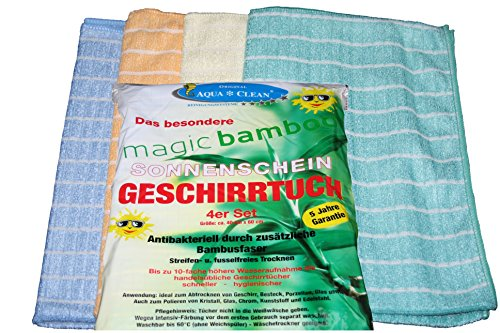 Magic Bamboo Geschirrtücher 4er Set