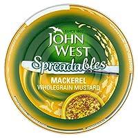 John West Spreadables Mackerel Wholegrain Mustard, 80g