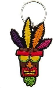Pyramid Crash Bandicoot - Llavero Aku Aku [Edizione: Spagna]