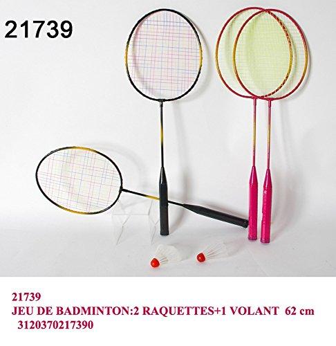 Set gioco spiaggia mare badminton 2 racchette con volano