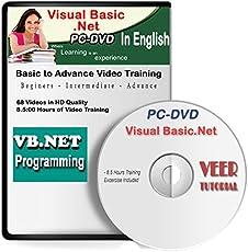 Veer Tutorial Visual Basic .Net Video Training (68 Videos, 8.5 Hrs) English(DVD)