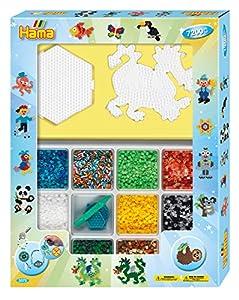 Hama 10.3072 - Juego de Cuentas de Mosaico Gigantes (tamaño único), Color Azul