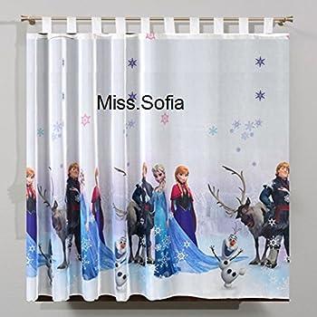 Frozen die eisk nigin 2 gardinenschals gardinen vorh nge aus usa spielzeug Gardinenschals kinderzimmer