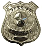Inet-Trades  US Polizeiabzeichen Metall Police Batch Kostüm Dienstmarke Polizei Abzeichen Karneval