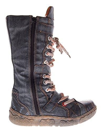 Damen Leder Winter Comfort Stiefel TMA 7086-N echt Leder Schuhe viele Farben Damenstiefel gefüttert Schwarz Grau