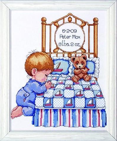Tobin Bedtime Prayer Boy Sampler,