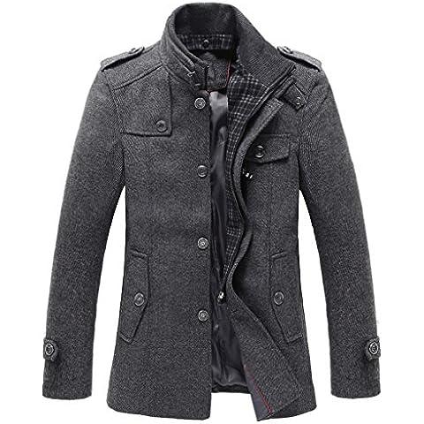 Match - Abrigo de lana para hombre
