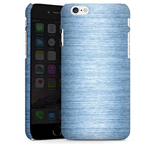 Apple iPhone X Silikon Hülle Case Schutzhülle Metall Look Metal Look - Indigo Premium Case matt