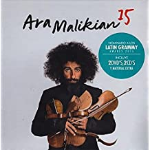 """ARA MALIKIAN """"15"""" (Edición 2 CD + 2 DVD + Libreto)"""