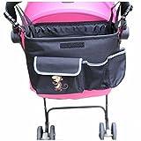 GudeHome Universal Kinderwagen-Organizer Organizer Storage Bag Pouch Kinderwagen taschen Organizer