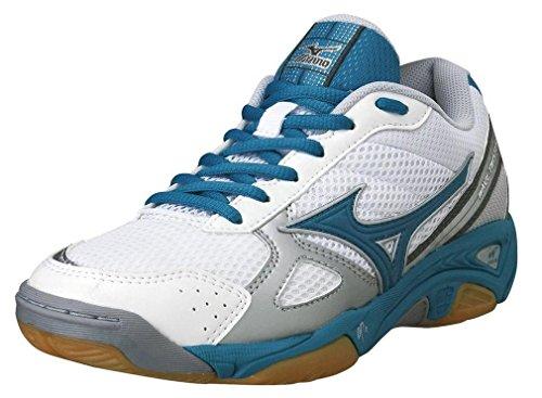 Mizuno  W Wave Stealth 3, Chaussures de handball femmes Bleu - Bleu
