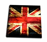 3D Rose United Kingdom Flagge Fahne Zeichenheft