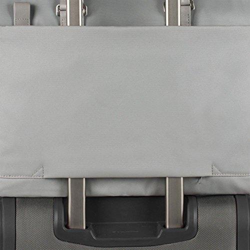 Borsa Messenger Piquadro Uomo organizzata con porta pc e iPad Grigio