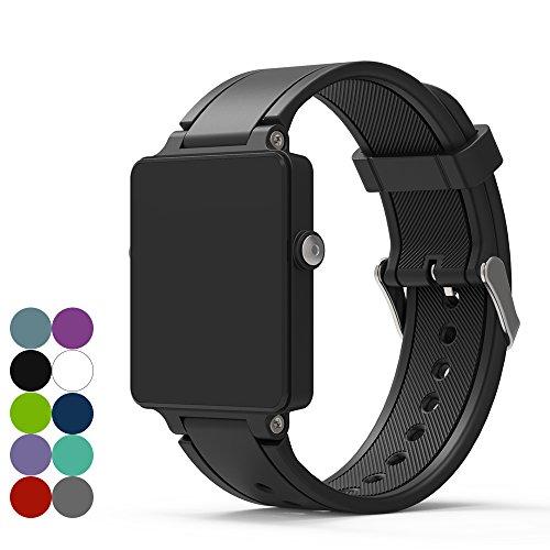 Garmin Vivoactive / Vivoactive Acetate Smart Watch Ersatzband - iFeeker Zubehör einstellbar weichen Silikon Ersatz Armband Uhrenarmband für Garmin Vivoactive / Vivoactive Acetate Sport Smart Watch