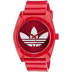 Adidas Unisex-Armbanduhr Santiago Analog Quarz Silikon ADH2655