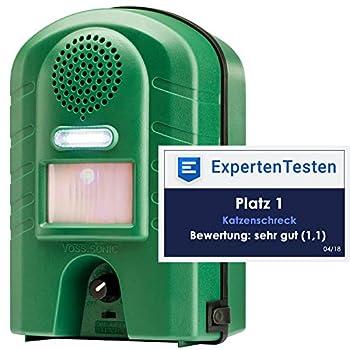 Voss.Sonic WEITECH VERTE Garden protector 2 plus - Répulsif ultrason chiens et chats ultra sons Wk0052 WK0053