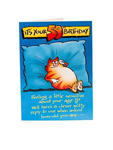 It's Your 50th Birthday, (Humour) Birthday Greetings Card