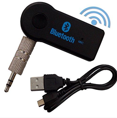 T::A Auto Bluetooth Wireless AUX Empfänger Adapter Dongle Musik Audio Stereo KFZ LKW Anlagen kabellos Musik streamen mit Smartphone Handy Tablet PC