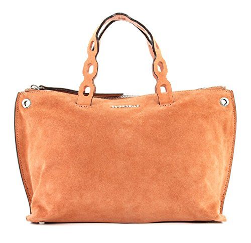 Coccinelle Naive Suede Handtasche camel -