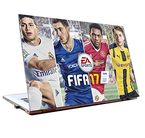 Tamatina Laptop Skin 15.6 inch - EA - Sport -Fifa - 17 - Gaming Skin - HD Quality - Dell-Lenovo-HP-Acer  available at amazon for Rs.185