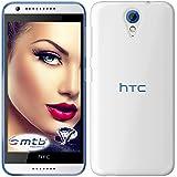 mtb more energy® Funda Clear & Slim para HTC Desire 620 | transparente | flexible | delgada | Gel TPU Silicona Carcasa Suave Cascara