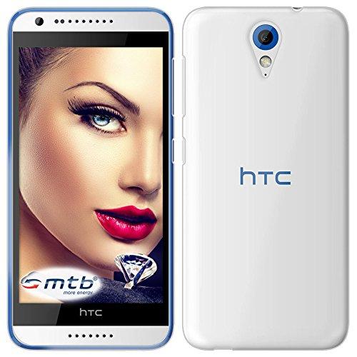 mtb more energy® Schutz-Hülle Clear & Slim für HTC Desire 620   transparent   flexibel   TPU Case Schutz Hülle Tasche