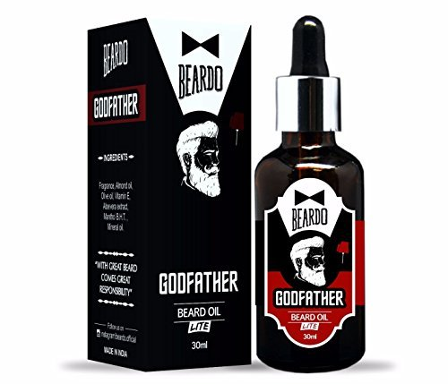 Beardo Godfather Lite Beard and Moustache Oil – 30 ml
