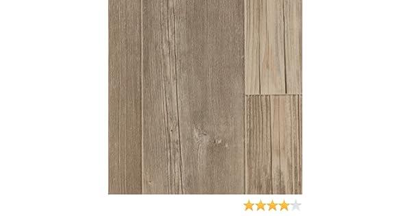 Holzoptik Fischgr/ät Eiche hell-grau 400 cm breit BODENMEISTER BM70617 Vinylboden PVC Bodenbelag Meterware 200 300