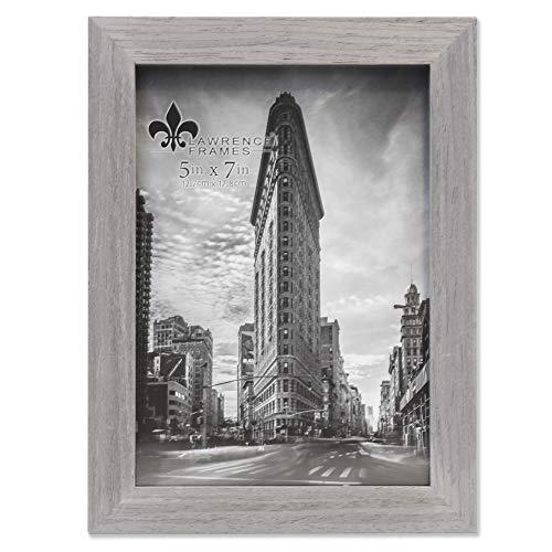 Lawrence Frames Soho Bilderrahmen, Holzmaserung, 12,7 x 17,8 cm, Grau