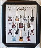 Guitar Heaven Rock Legends Guitars Slash Henrix Page Official Framed Art Poster Brand New