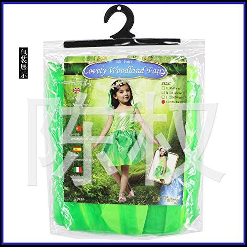 stüm Kinder Blume Fee Fee Kostüm Bild Farbe XL ()