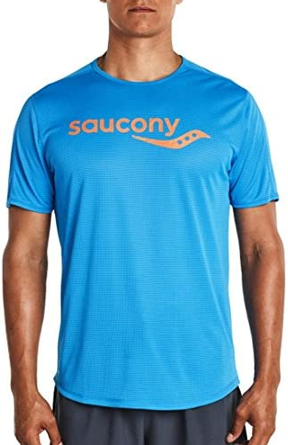 Saucony Short Sleeve Sleeve Sleeve (XL) (Brilliant blu) | Dall'ultimo modello  | Vari I Tipi E Gli Stili  08451a