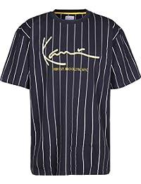 Karl Kani Signature Pinstripe Camiseta Navy White f3319daa354
