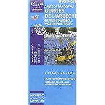 Gorges de l'Ardèche / Bourg-St-Andéol gps