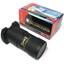 Opteka HD² voltiamperimétrica Duplicador de diapositiva para Canon EOS 1D, 5D, 6D, 7D, 10D, 20D, 30D, 40D, 50D, 60D, 100D, 300D, 350D, 400D, 450D, 500D, 550D, 600D, 700D, 1000D, 1100D y 1200D cámaras réflex digitales