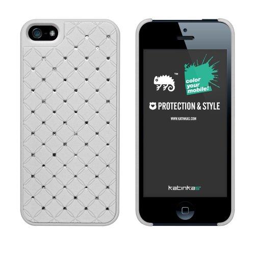 Katinkas Royal Hard Case für Apple iPhone 5 rosa Weiß