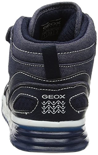 Geox Jungen J Argonat Boy D High-Top Blau (Navyc4002)