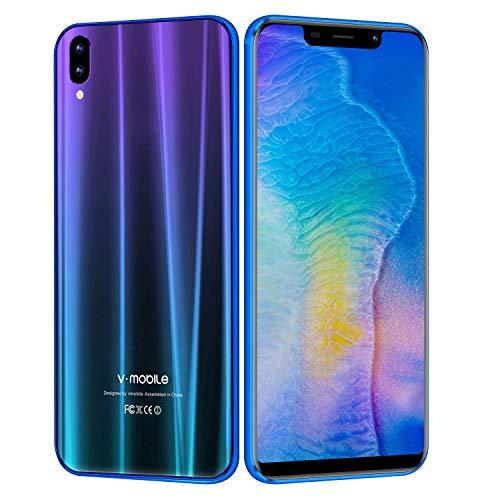 V Mobile A2 Lite Smartphone de 5.84 Pulgadas 3 GB RAM/32 GB ROM,3800mAh Bateria,Pantalla Completa 19:9,13MP Camara,Dual Sim,Android 7.0 3G+ Telefono Movil(3GB RAM+32GB ROM)