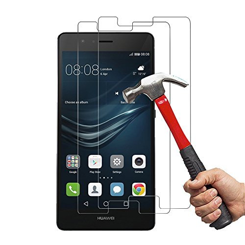 [2-Unidades] Huawei P9 Lite Protector de Pantalla Hepooya P9 Lite Cristal Templado...