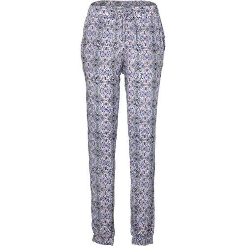 O'Neill Damen Beachy Beach Pants Streetwear Hose, White AOP W/Blue, S -
