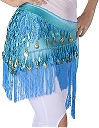ef558f0b45d2 LaoZanA Ceinture Danse Orientale Femme Belly Danse Ventre Orientale Hanche  Costume Professionnel mit Sequins