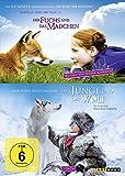 Der Fuchs und das Mädchen/Der Junge und der Wolf [2 DVDs]