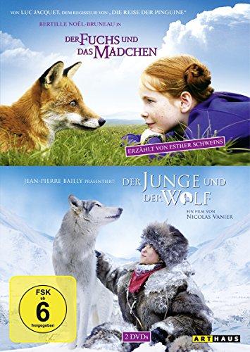 Bild von Der Fuchs und das Mädchen / Der Junge und der Wolf [2 DVDs]