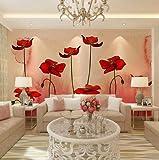 Liwenjun Wallpaper 3D Design Teebaum Foto