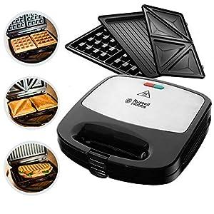 Russell Hobbs Multifunktionsgerät 3-in-1 Fiesta (Sandwich Maker, Waffeleisen,...