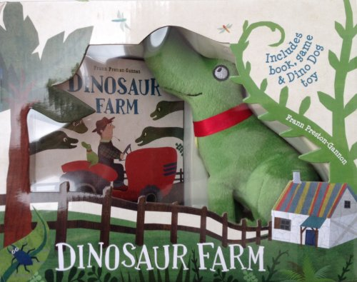 Dinosaur Farm Boxed Book and Toy Set