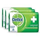 Dettol Soap Value Pack, Original - (3 Pieces X 125 g)