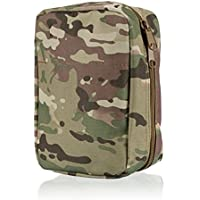 Qearly Travel Survival First Aid Kit Utility Pouch fuer Outdoor Camping-CP Camouflage preisvergleich bei billige-tabletten.eu
